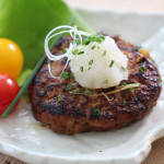 Healthy Tofu Hamburg Steak