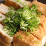 Home made Atsu-age / Deep-fried Tofu