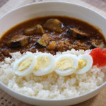 Japanese style curry with Ground Beef and Eggplants