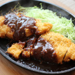 Miso-Katsu / Chicken cutlet  with Miso-sauce